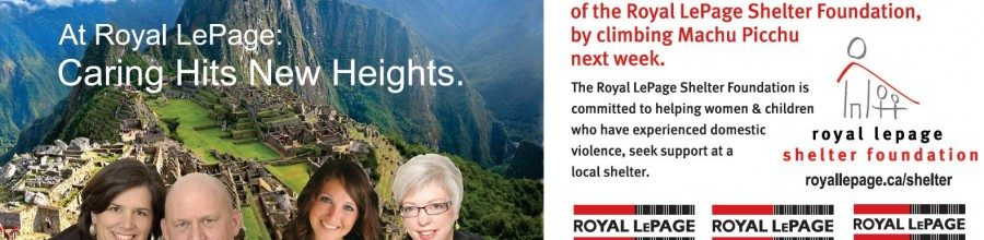 Machu Picchu Challenge for Shelter